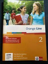 Orange Line 2: 6. Klasse Standardaufgaben mit Audio-CD Lehrersoftware KLAUSUREN