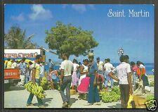 St. Martin Maarten Marigot Market French West Indies stamp