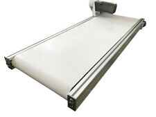 """Hot! More Wider 47.2""""X15.7""""White Pvc Belt Conveyor Mesa Applicable for Industry"""