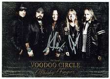 Voodoo Circle - original signierte Autogrammkarte - HEAVY METAL - hand signed