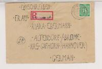 Gemeinsch.Ausg. Mi. 936 EF, Not-R-Leipzig 0 37, 21.5.46