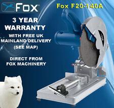Fox f20-140a Metal Sierra De Corte 355mm 14 Pulgadas Con Blade & Entrega Gratis
