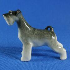 """Schnauzer """"Daisy"""" Figurine Lomonosov Porcelain Russia USSR LFZ"""