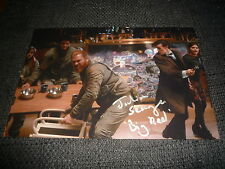 """JULIAN SEAGER signed Autogramm auf 20x30 cm """"DR. WHO"""" Foto InPerson LOOK"""