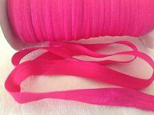 16mm  Hot Pink Foe Elastic  3 Meters Length  HairBows HairBands Sewing