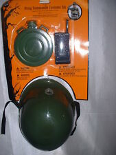 Childrens Army Commando Helmet Radio Canteen Halloween Costume Accsessory Kit