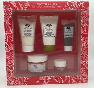 ORIGINS TINY TREASURES On-The-Go Skincare Superstars Gift Set