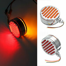 98 LED Red Amber Truck Trailer Tractor Double Face Stop Tail Side Marker Light