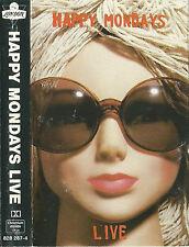 HAPPY MONDAYS LIVE CASSETTE HOLLAND FACTORY/LONDON ISSUE ROCK INDIE LEFTFIELD
