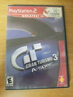Playstation 2 Gran Turismo 3 A-spec | Sony PlayStation 2 PS2 | Complete