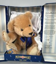 "Merrythought Diamond Jubilee Bear - 17"" Tall - LE 755/2500 COA NIB NRFB"