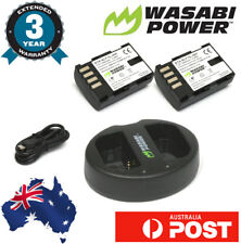 Wasabi Power 2000mah Battery for Panasonic DMW-BLF19 (2 pack) with Dual Charger
