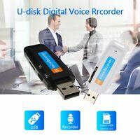 Mini USB Hidden Audio Voice Recorder Dictaphone 32 GB Flash Drive U-Disk