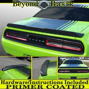 For 2015 16 17 18 19 20 2021 Dodge Challenger SRT Hellcat Style Spoiler PRIMER