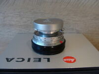 "Leitz Wetzlar - Leitz Leica Elmar-M 1:2.8/50mm chrom ""Standard Lens"" - TOP!"