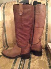 Stiefel 👢 Pesaro Gr.38 38,5 Leder gefüttert mit Stoff Schuhe Stiefeletten