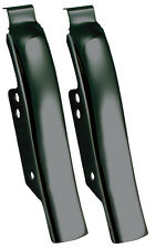 26313mu BLACK FENDER/SADDLEBAG FILLER PANELS FOR HARLEY BIG TWIN 45898-10