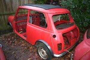 Classic Mini wheel nut from a Mini I am Breaking