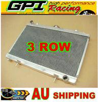 3ROW Aluminum Alloy Radiator For Nissan Silvia S14 S15 SR20DET 240SX 200SX