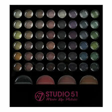 Makeup Eyeshadow Palette W7 Studio 51 Piece Set Brush Colour Cosmetic Face Kit