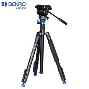 Benro A2883FS4 Pro Aero 4 Video Travel Angel Tripod Kit Video Tripod