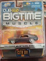 Jada Dub City '70 Ford Mustang Boss 429 1:64 Scale
