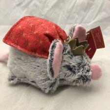 Bark Box Mikhail Mouse King Nutcracker Christmas Crinkle Dog Toy M/L Squeaky