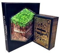 Minecraft 5 Handbooks Collection Set Mojang Book Blockopedia Construction New
