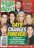 Soap Opera Digest Magazine - December 25, 2017 - Days of Our Lives, Don Diamont