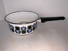 Vintage Enamel AUSTRIA Email Sauce Pan
