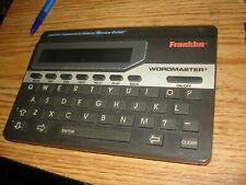 Franklin Wordmaster Deluxe Model Wm-1055A Merriam webster Works bin 924