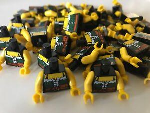 LEGO 20 CLASSIC PIRATE MINIFIGURE TORSOS STRIPED PARTS PIECES