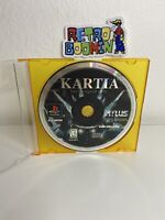 Kartia: The Word of Fate (PlayStation 1, 1998) PS1 Disc Working Tested Atlus Rpg