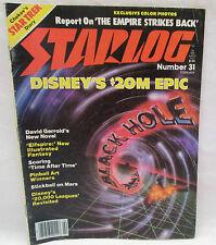 Starlog Magazine Of The Future Feb. 1980 Chekov's Star Trek Diary - Black Hole