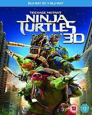 Teenage Mutant Ninja Turtles 3D (3D + 2D Blu-ray, 2 Discs, Region Free) *NEW*