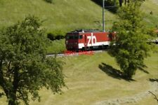 PHOTO  SWITZERLAND 2006 BRUNIG LINE TRAIN  NR GISWIL
