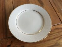 "Noritake Tulane pattern lacy ivory bread plates(s) 6"" in pristine condition!"