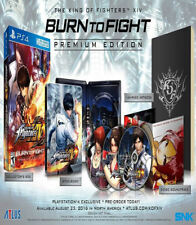 King of Fighters XIV Premium Edition PS4 New PlayStation 4, PlayStation 4
