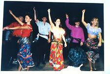 Vintage Photography PHOTO GYPSY EUROPE DANCERS DOING GERMAN SALSA? BELLY DANCE?
