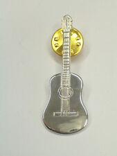 CHITARRA: Spilla da giacca ( pins ) in ARGENTO 925 - musica - strumenti musicali
