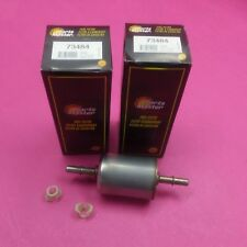 2 PARTS MASTER FUEL FILTERS  73484 (REPLACES GF1580, G7333)