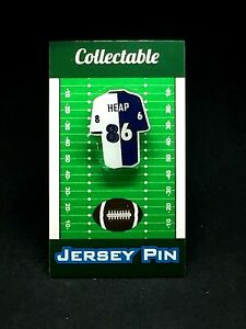 Baltimore Ravens Todd Heap jersey lapel pin-Classic team Collectable