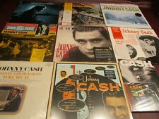 JOHNNY CASH CHRISTMAS SAN QUENTIN PRISON 16 HITS ROUGH CUT HERE'S JOHNNY +CD SET