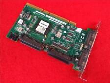 FP874 Dell Adaptec Ultra U320 PCIx Dual SCSI RAID Card ASC-39320A Tested
