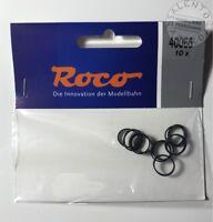 ricambi H0: ROCO 40066 anelli di aderenza 12,5-13,8 mm (conf. 10 pz)