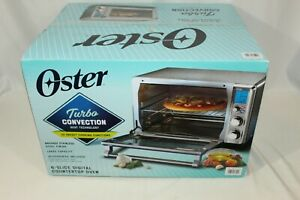 Oster Digital Stainless Steel 6 Slice Turbo Convection Countertop Oven New OB