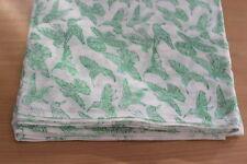 5 Yards soft Cotton Indian Fabric Bird Design Hand Block printed fabric 10