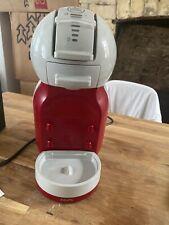 DeLonghi Nescafé Dolce Gusto Mini Me Pod Capsule Coffee Machine, Red & Grey