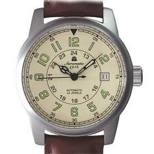 Automatik diseño retro reloj 2.ww tanques muda a1412