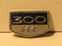 Chrysler 300 plastic Script Emblem Trim